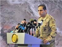 المتحدث العسكري يستعرض أنشطة ومهام القوات البحرية خلال مراحل العملية سيناء 2018