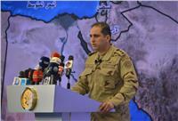 المتحدث العسكري: أبطال القوات المسلحة والشرطة مستمرون في تنفيذ المهام لتطهير سيناء