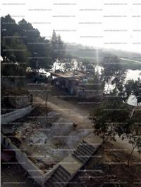 صور| التعدى على نهر النيل بالقليوبية