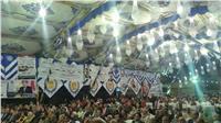 مؤتمر جماهيري حاشد لتأييد الرئيس السيسي في دمياط