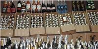 ضبط مشروبات كحولية وسجائر أجنبية غير خالصة الضرائب بمدينة نصر