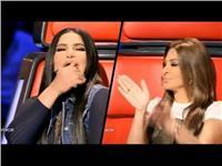وصلة رقص لأحلام وإليسا في «The Voice».. «فيديو»