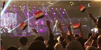 فيديو|  حكيم يغني «قالو ايه»  في الكويت
