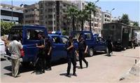 حملات أمنية وتموينية بالإسكندرية لضبط الخارجين عن القانون