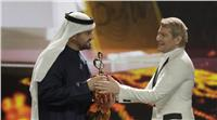 «حسين الجسمي» يحصد جائزة الفنان الأكثر شعبية في الشرق الأوسط