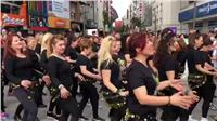 فيديو| وصلة رقص لسيدات في تركيا على «بُشرة خير»