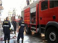 إخماد حريق بمخزن منظفات فى كرداسة