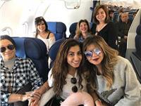 نيللى كريم وإلهام شاهين تغادران إلى بيروت لهذا السبب