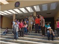 «تحيا مصر» بأطفالها داخل الكلية الفنية العسكرية
