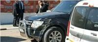 ننشر الصور الأولى لتفجير موكب رئيس الوزراء الفلسطيني