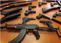 الداخلية: ضبط 67 متهما بحوزتهم 74 قطعة سلاح ناري