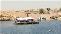 مطار أسوان ينفذ تجربة طوارئ لسيناريو سقوط طائرة ببحيرة ناصر