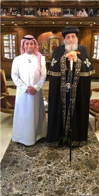 البابا تواضروس الثاني على «MBC» الجمعة