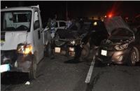 مصرع شخصين وإصابة ثالث في حادث سير بـ6 أكتوبر