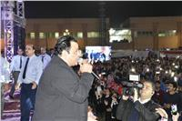 صور..محمد فؤاد يلهب حماس أعضاء سموحة