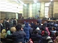 وصول المتهمين بقتل «عفروتو» لمحكمة عابدين