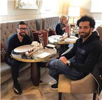 «محمد صلاح» و«عبد الله السعيد» معًا في لندن