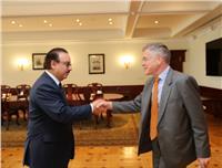 وزير الاتصالات يبحث مع سفير ألمانيا تعزيز التعاون بين البلدين