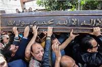 الآلاف يشيعون جنازة شهيد القوات المسلحة بالمنيا