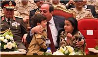 «الرئاسة» تنشر فيديو لقاء الرئيس السيسي وأبناء شهداء القوات المسلحة