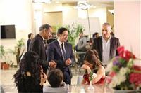 أسرة «أبو العروسة» تحتفل بالانتهاء من تصوير أخر مشاهد المسلسل