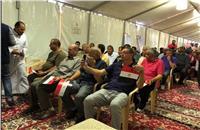صور| قنصلية جدة تستقبل المصريين للإدلاء بأصواتهم