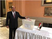 صور| سفير مصر بإيطاليا يدلي بصوته في الانتخابات الرئاسية