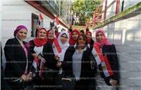 مصر تنتخب| إقبال كثيف من المرأة في انتخابات الخارج باليوم الأول