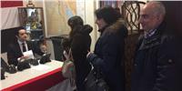 المصريون في هولندا يشاركون بكثافة في الانتخابات الرئاسية   صور وفيديو