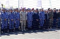 محافظ الإسكندرية يشارك في تشييع جثمان شهيد الواجب «الجزار»