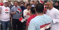 مصر تنتخب| «قالوا أيه» تزلزل مشاعر المصريين في الكويت..فيديو