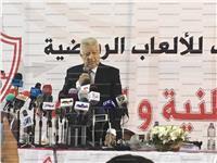 مرتضى منصور: لو السما أنطبقت على الأرض لن أجلس مع العتال