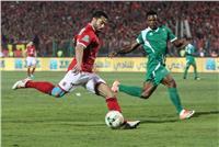 ميدو جابر يتقدم للأهلي بأول أهداف اللقاء في مرمى «مونانا»