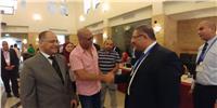 بالصور.. مصر تنتخب| أشرف عبدالباقي يفاجئ المصريين ويصوت بالسعودية