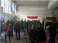 مصر تنتخب| بدء تصويت المصريين في الانتخابات الرئاسية بولاية لوس أنجلوس الأمريكية ..صور