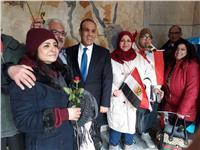 السفير بدر عبد العاطي: توافد كبير للشباب على الانتخابات بألمانيا .. صور