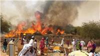 حريق هائل يلتهم ١٠٠٠ منزل بولاية شرق إقليم دارفور