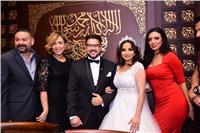 صور| نجوم الفن يحتفلون بعقد قران كريم أبو زيد
