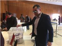 مصر تنتخب| النائب محمد فؤاد يدلي بصوته من الأردن