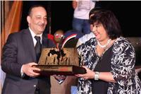 تقرير| إيناس عبد الدايم تنقذ«الأقصرعاصمة الثقافة العربية» بختام مشرف