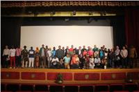 """المشاركون في معسكر الشباب الإفريقي يتنقلون بين مدن غانا في فيلم """"قطار"""""""