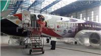 فيديو  تعرف على مراحل تصميم طائرة منتخب مصر