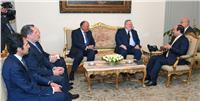 «السيسي» يستقبل وزير الخارجية اليوناني
