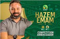 فيديو  حازم إمام يعلن مشاركته بقرعة دوري أبطال أفريقيا
