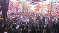 أهالى «فاقوس» يؤيدون «السيسي» بمؤتمر حاشد