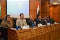 افتتاح فعاليات المؤتمر السادس لقسم الصحة العامة بطب المنوفية