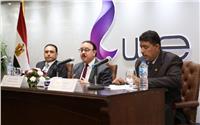 «القاضي» يلتقي قيادات المصرية للاتصالاتبالقرية الذكية