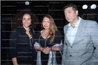 صور| ليلى علوي تشارك بحفل العيد الوطني لليونان