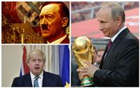 «بوتين» على خطى «هتلر» .. اتهام بريطاني عنوانه «كأس عالم بدوافع سياسية»