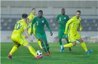 فيديو  المنتخب السعودي يتعادل مع أوكرانيا «1 - 1» وديًا